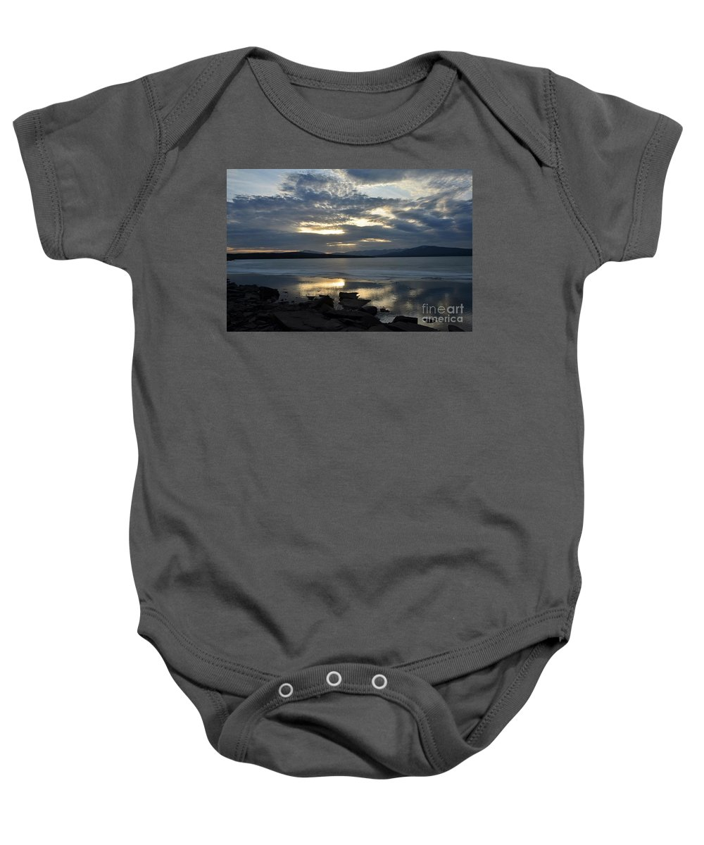 Water Baby Onesie featuring the photograph Ashokan Reservoir 11 by Cassie Marie Photography