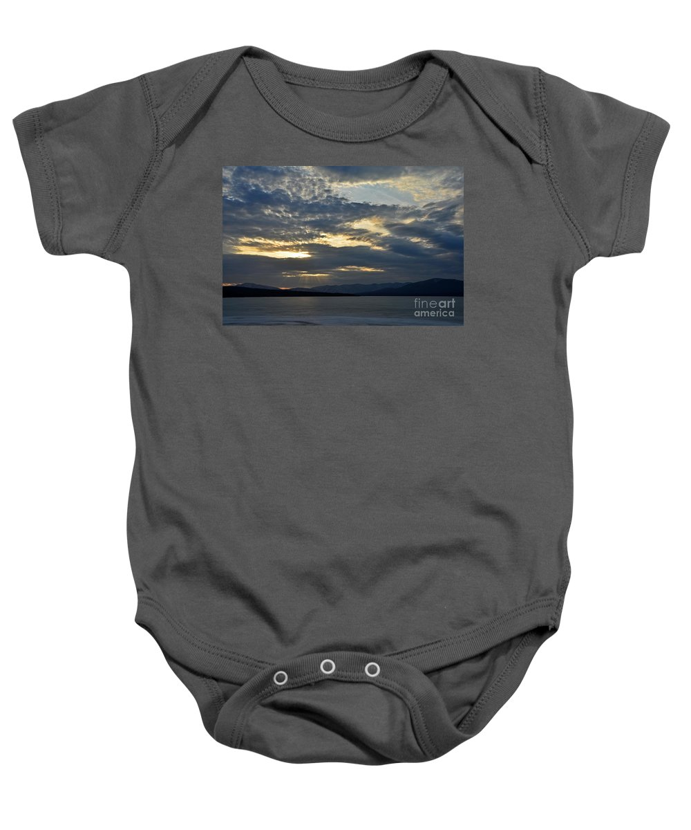 Water Baby Onesie featuring the photograph Ashokan Reservoir 12 by Cassie Marie Photography