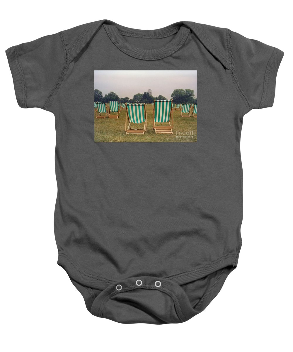 Hyde Park Baby Onesie featuring the photograph Assemblage by Christine Jepsen