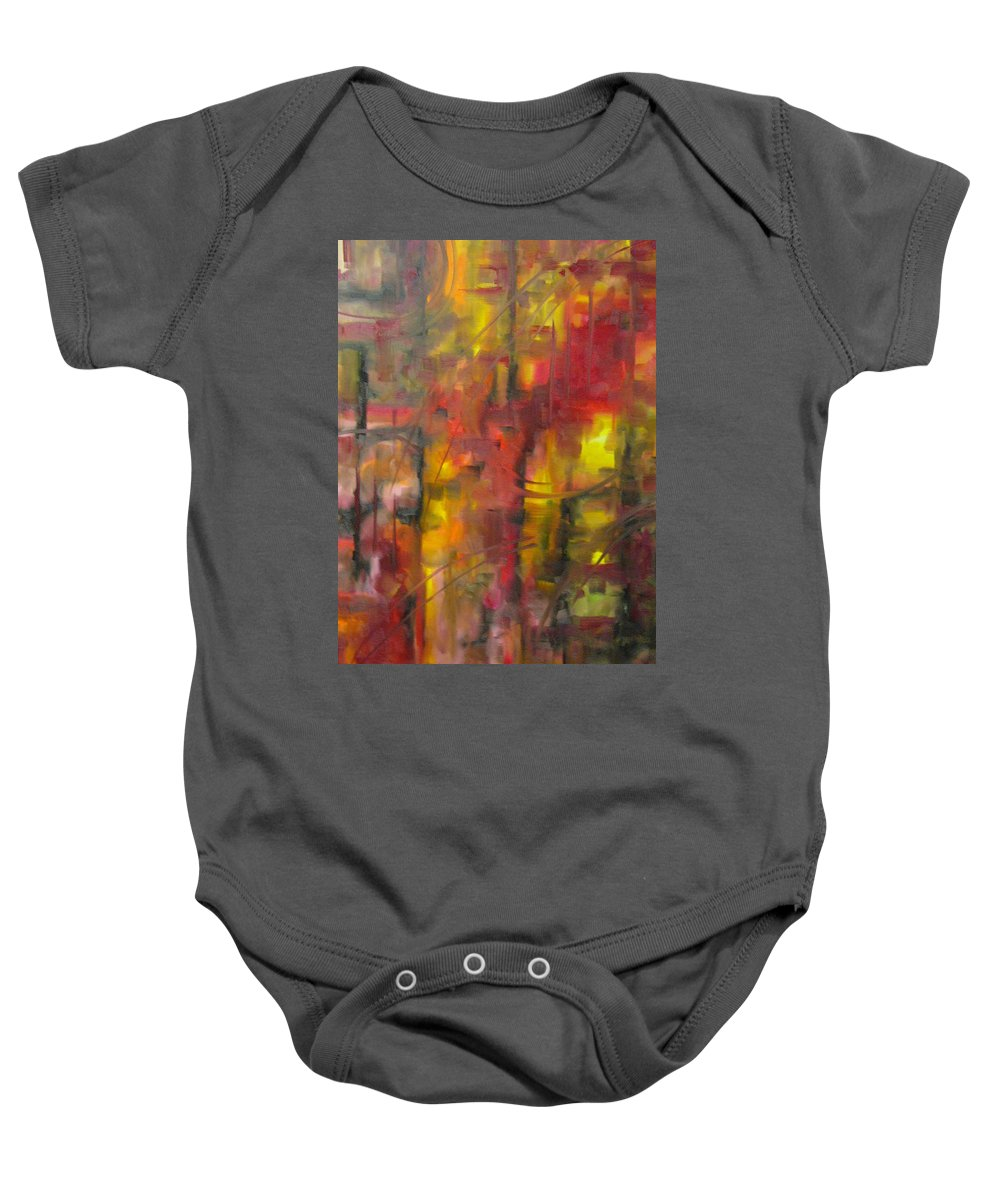 Asylum Baby Onesie featuring the painting Asylum by Lord Frederick Lyle Morris