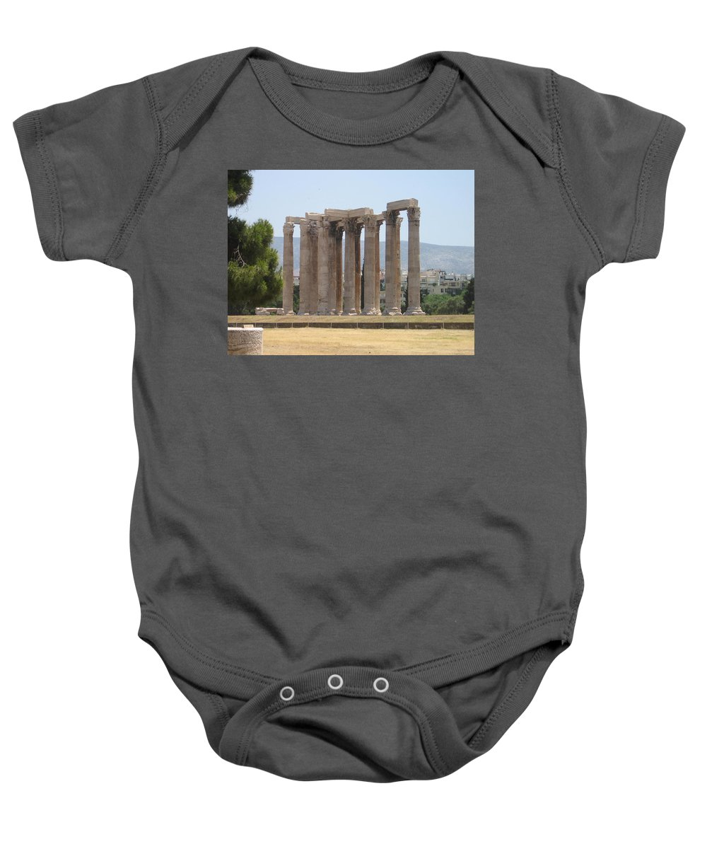 Athens Baby Onesie featuring the photograph Athens 1 by Kimberly Maxwell Grantier