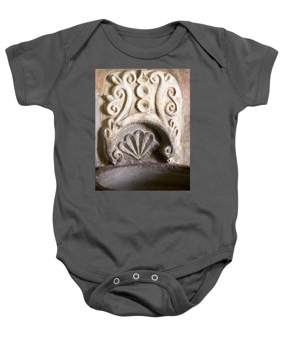 Atotonilco Baby Onesie featuring the photograph Atotonilco Design by Cathy Anderson