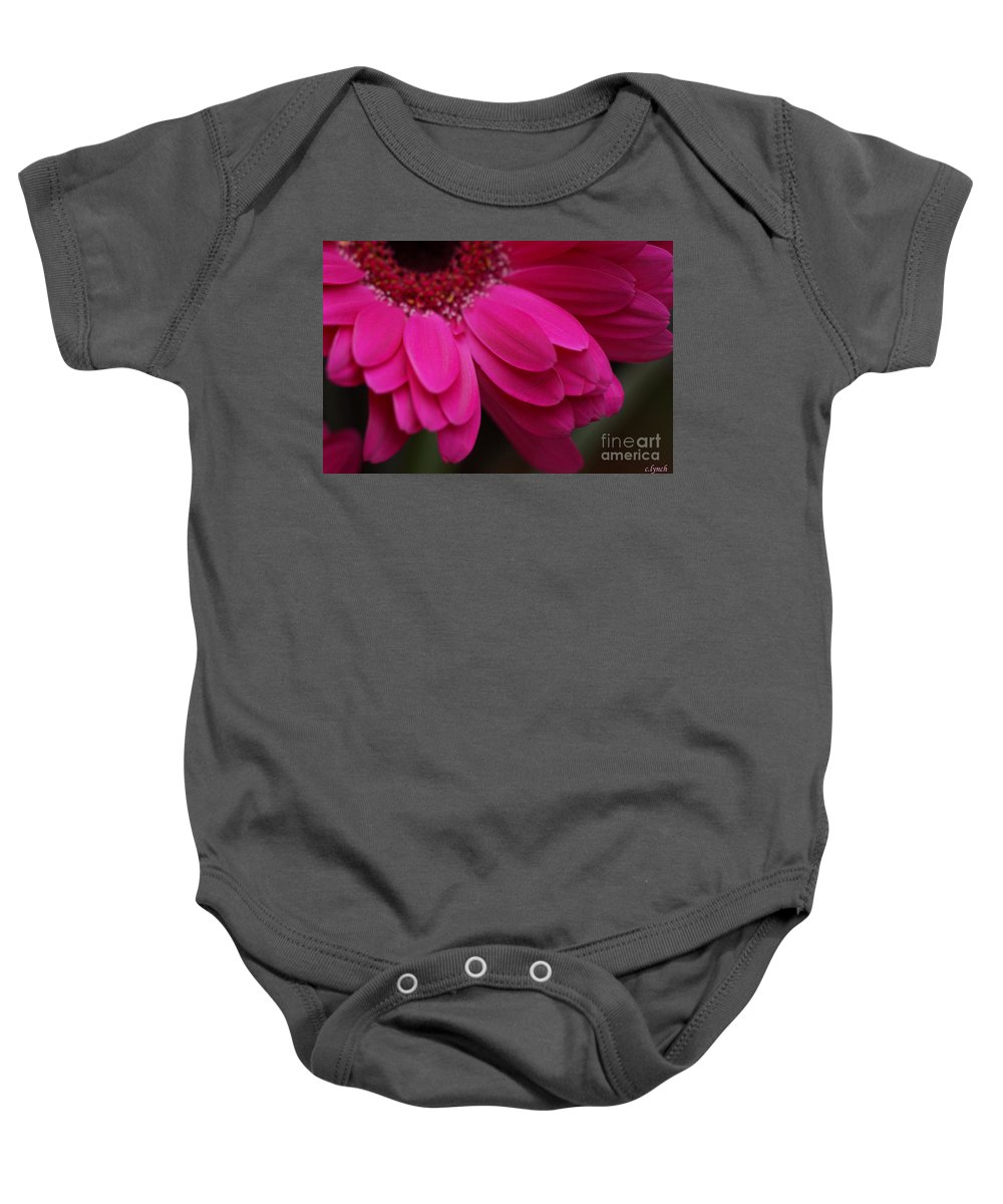 Pink Baby Onesie featuring the photograph Beautiful Petals by Carol Lynch