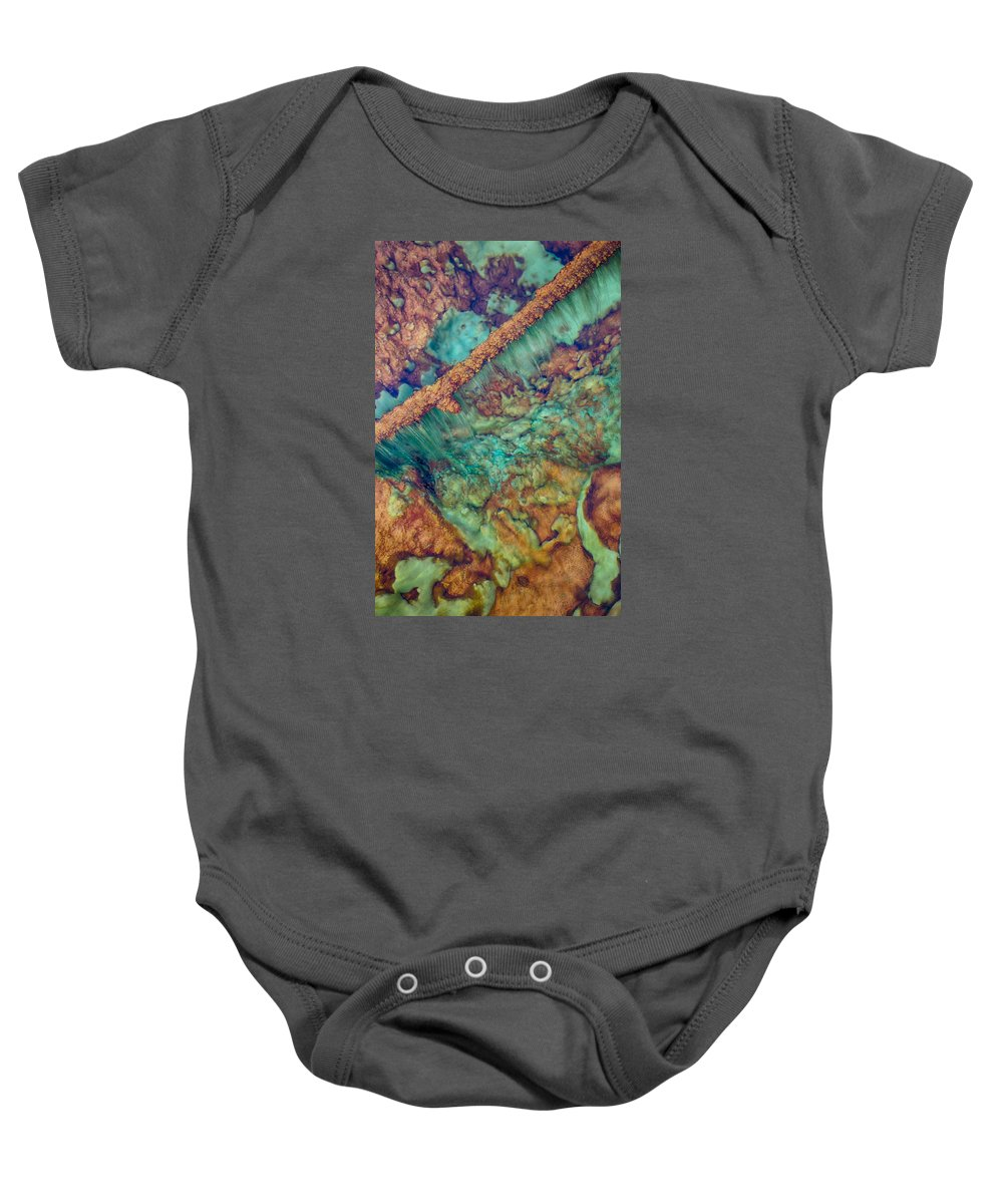 Hot Springs Baby Onesie featuring the photograph Beautiful Rebar Hot Springs by Scott Campbell
