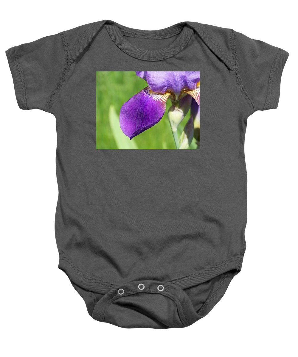Flowers Baby Onesie featuring the photograph Beauty Within by Michele Nelson