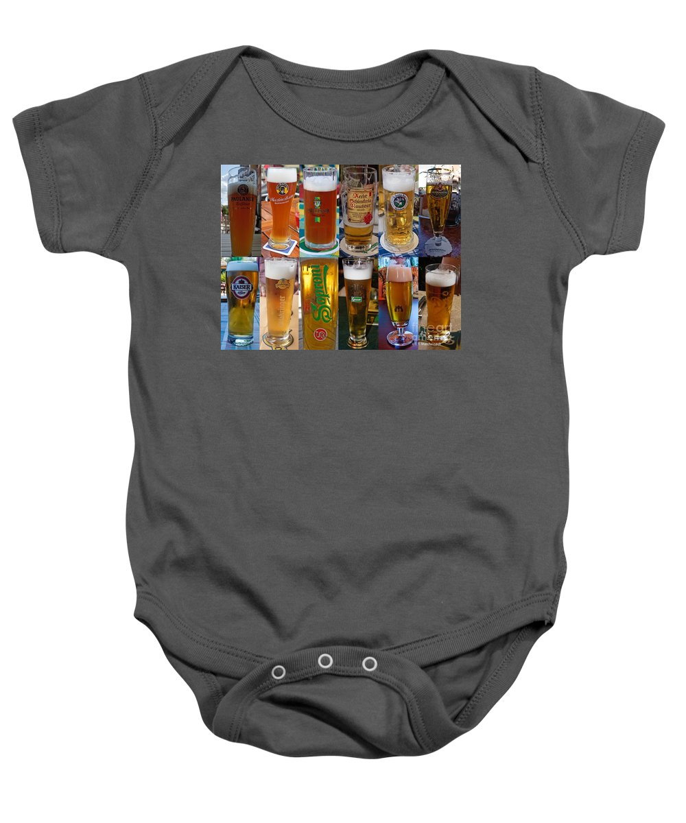 Beer Baby Onesie featuring the photograph Beers Of Europe by Thomas Marchessault