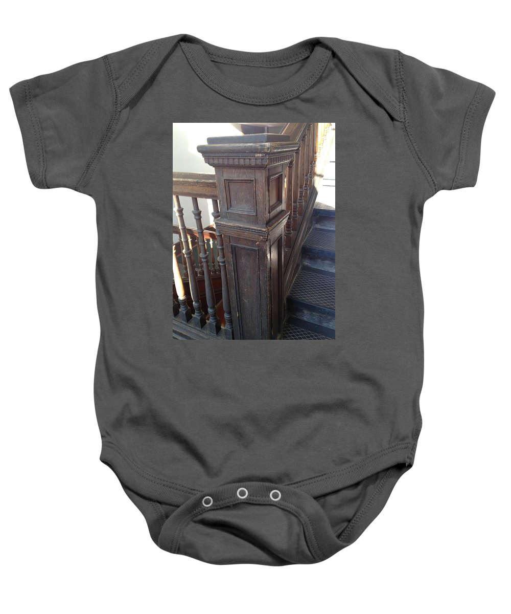 Basister Baby Onesie featuring the photograph Before by Joseph Yarbrough