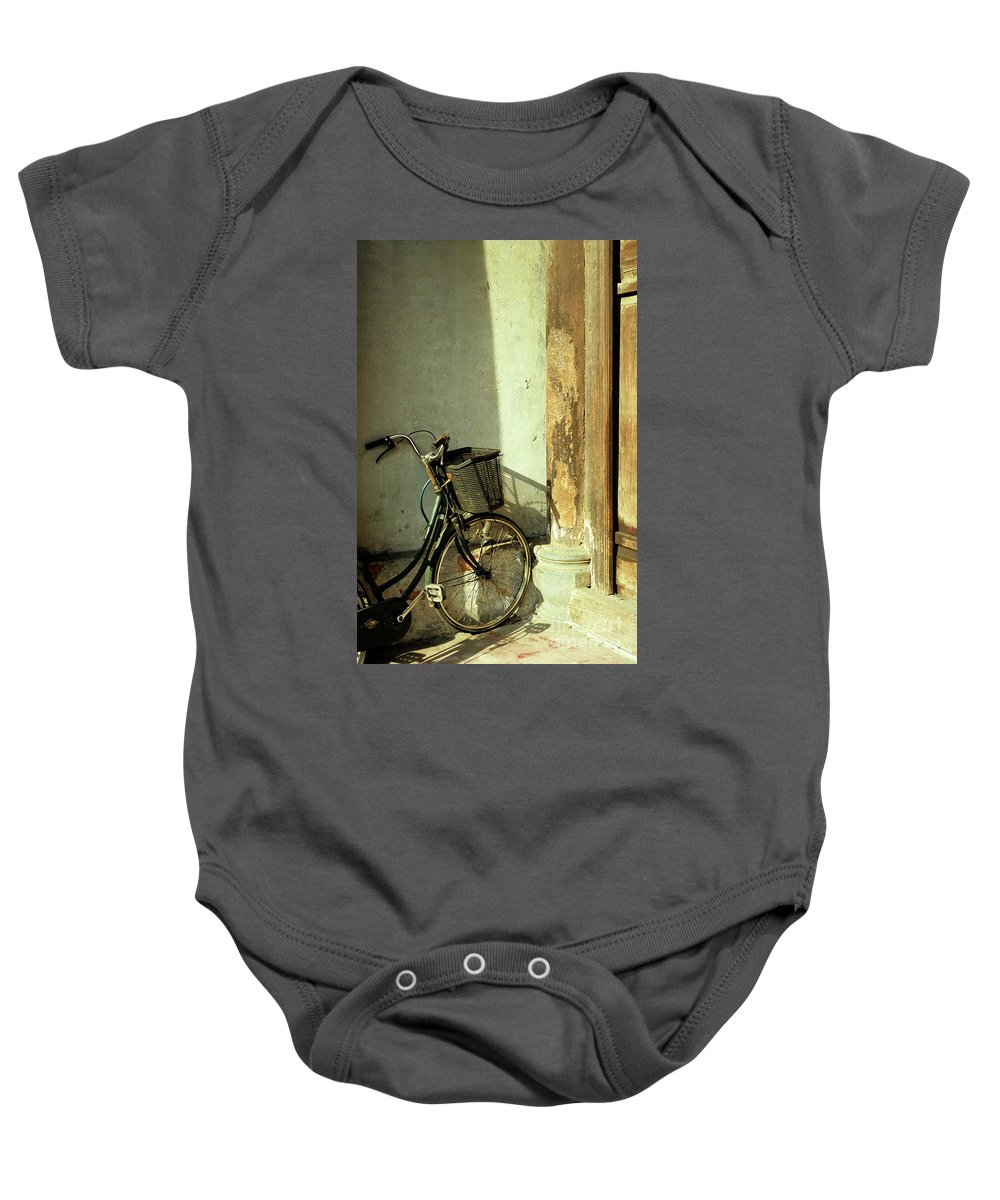 Vietnam Baby Onesie featuring the photograph Bicycle 02 by Rick Piper Photography