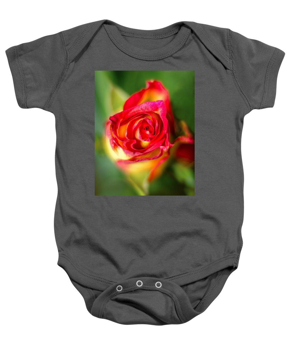 Blossom Baby Onesie featuring the photograph Blossoming Life by Nick Field