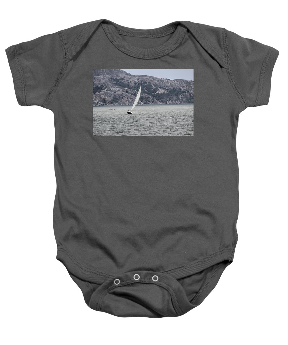 California Baby Onesie featuring the photograph Boat by Becca Buecher