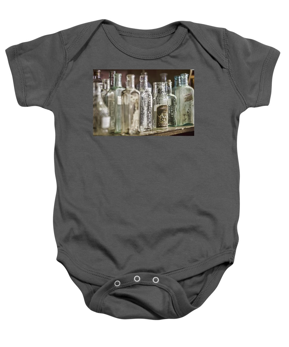 Bottle Baby Onesie featuring the photograph Bottle Collection by Heather Applegate