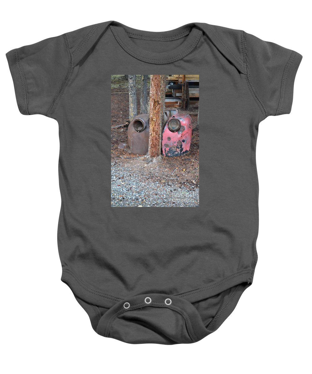 Bumped Baby Onesie featuring the photograph Bumped by Brian Boyle