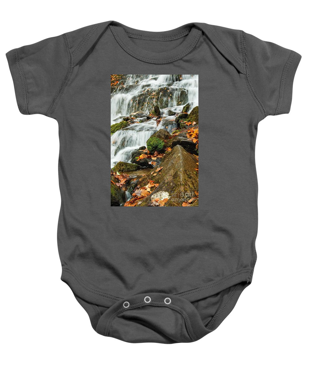 Landscape Baby Onesie featuring the photograph Cascade by Patrick Shupert