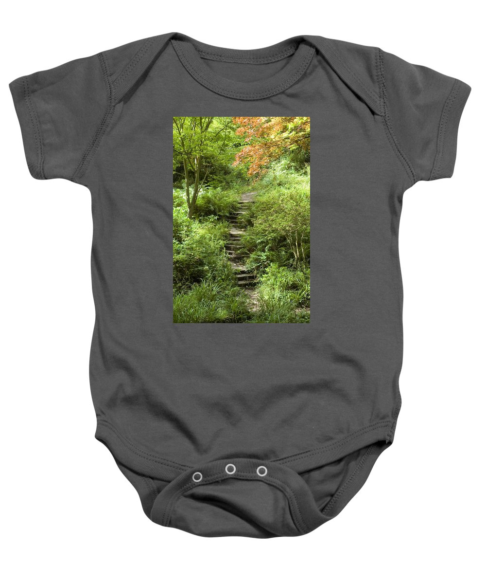 Cardiff Baby Onesie featuring the photograph Cefn Onn by Jeremy Voisey
