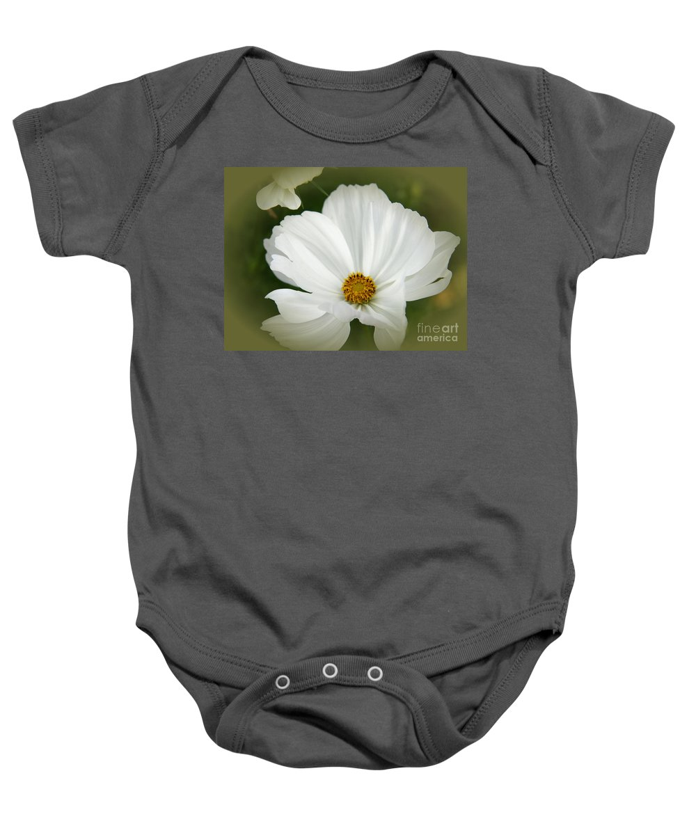 Cosmea Baby Onesie featuring the photograph Clarity by Christiane Schulze Art And Photography