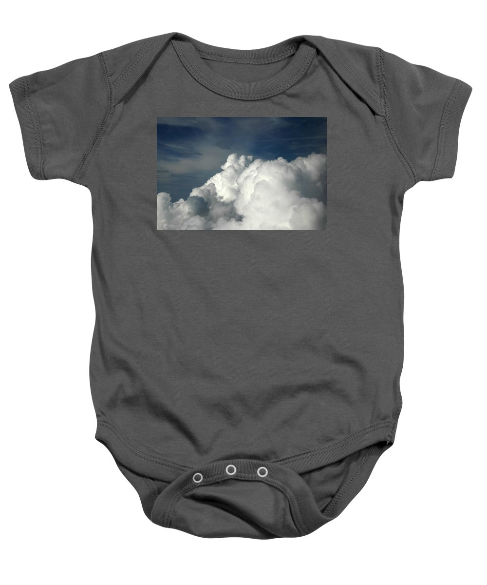Cloud Baby Onesie featuring the photograph Clouds by Tracy Winter