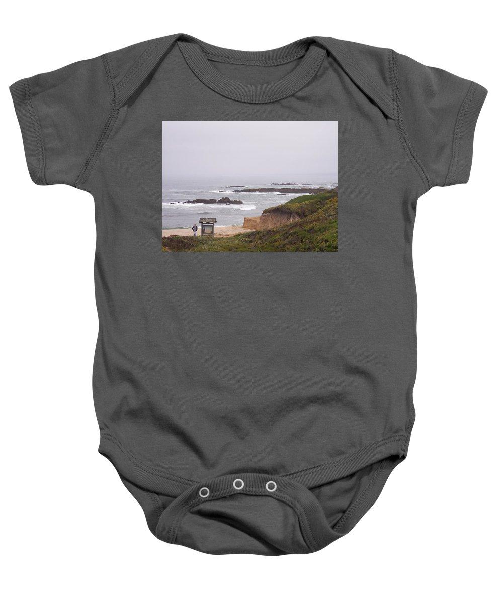 Coast Baby Onesie featuring the photograph Coastal Scene 7 by Pharris Art