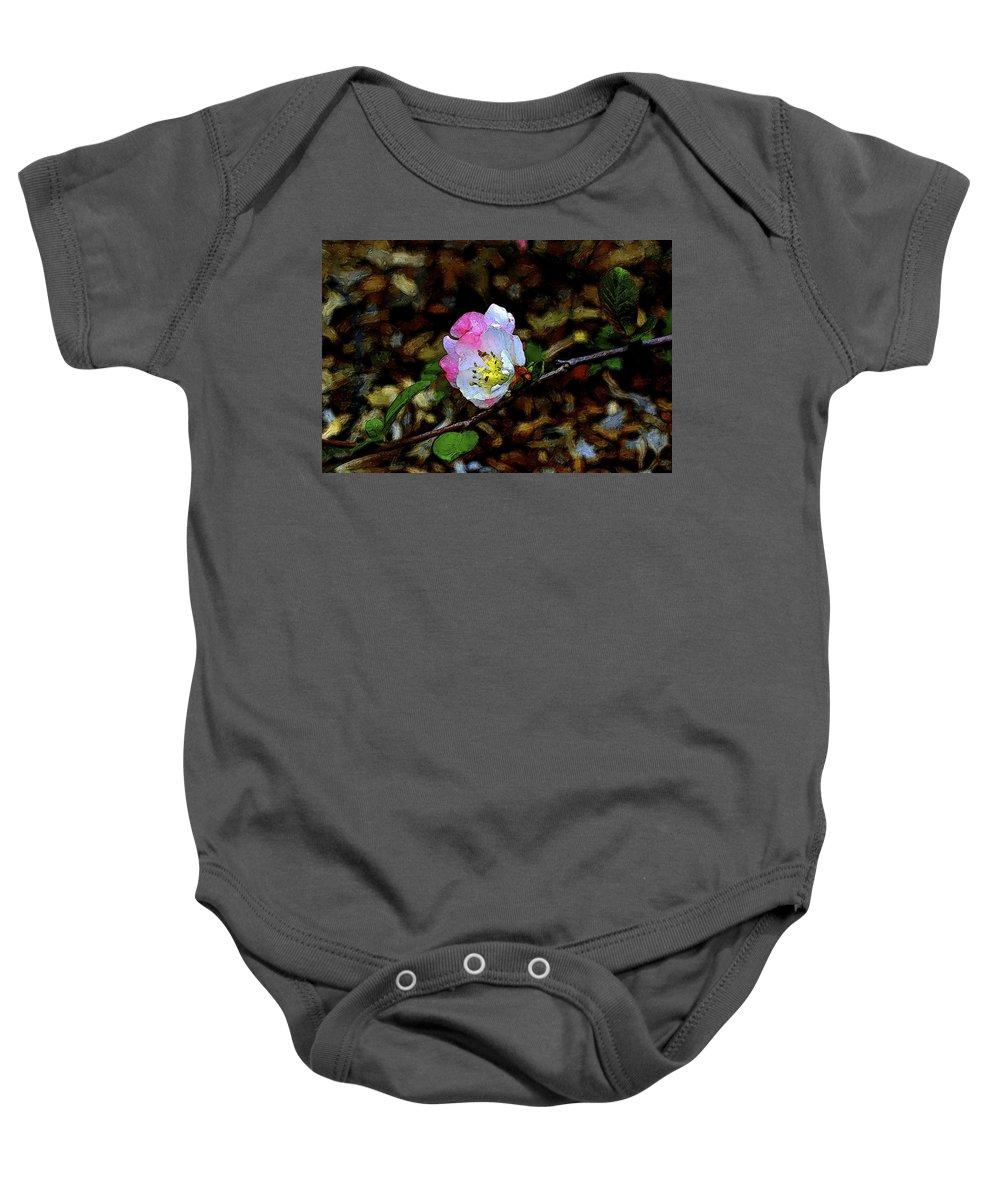 Floral Baby Onesie featuring the photograph Color 131 by Pamela Cooper