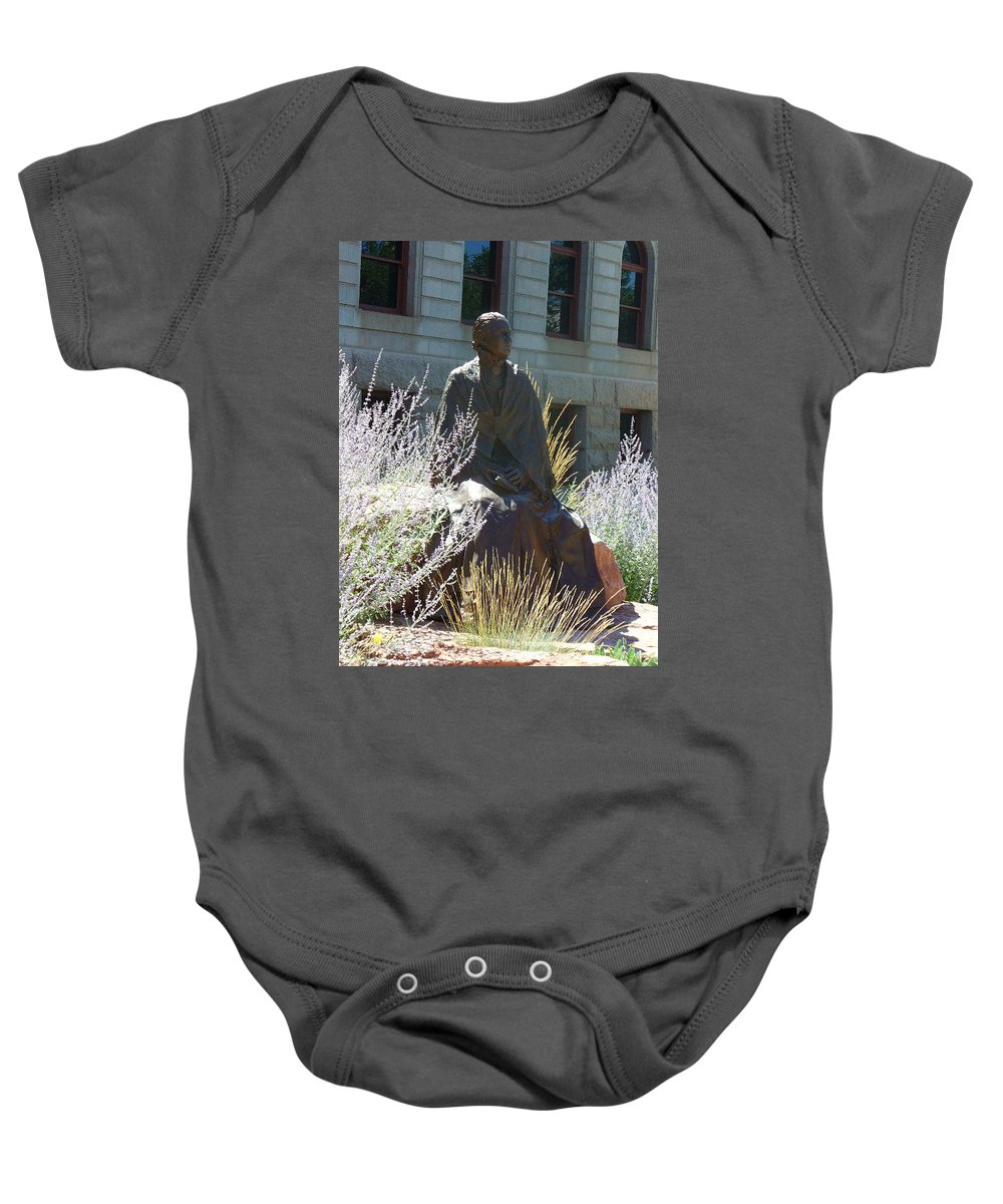 Lyle Baby Onesie featuring the painting Colorado Ioi by Lord Frederick Lyle Morris