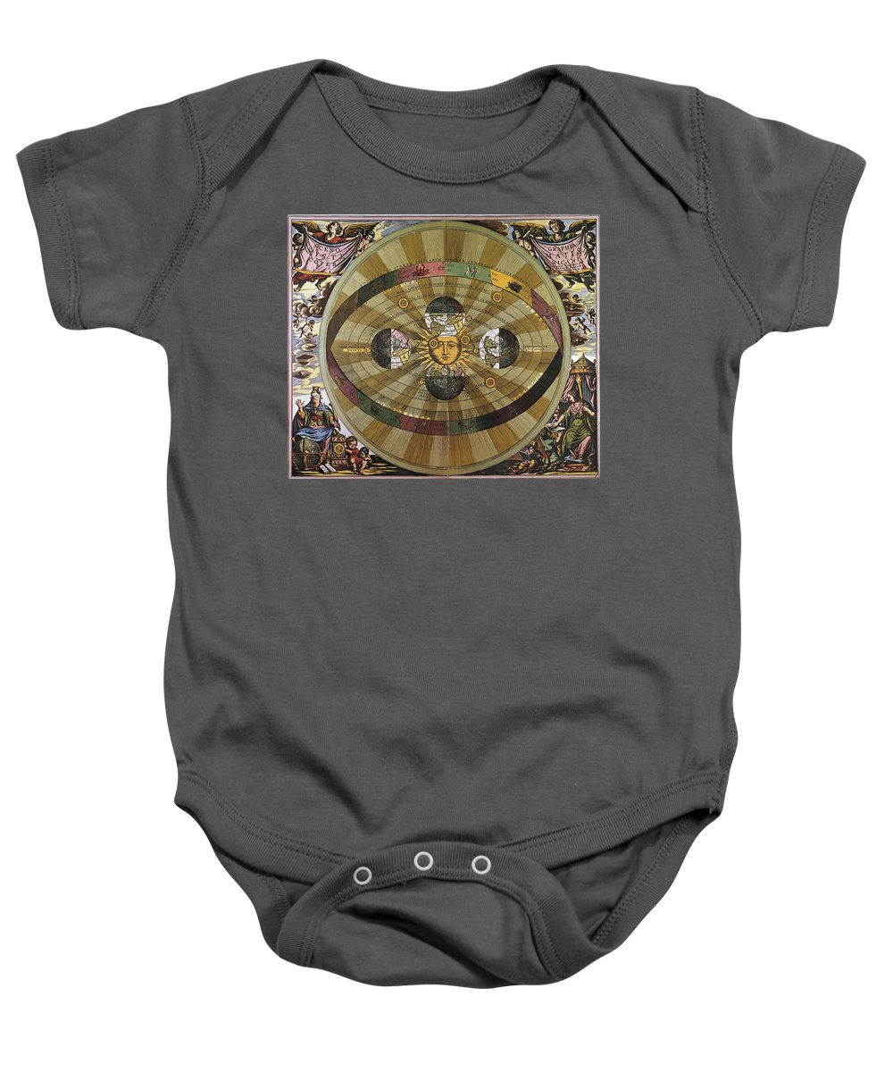 17th Century Baby Onesie featuring the photograph Copernican Universe by Granger