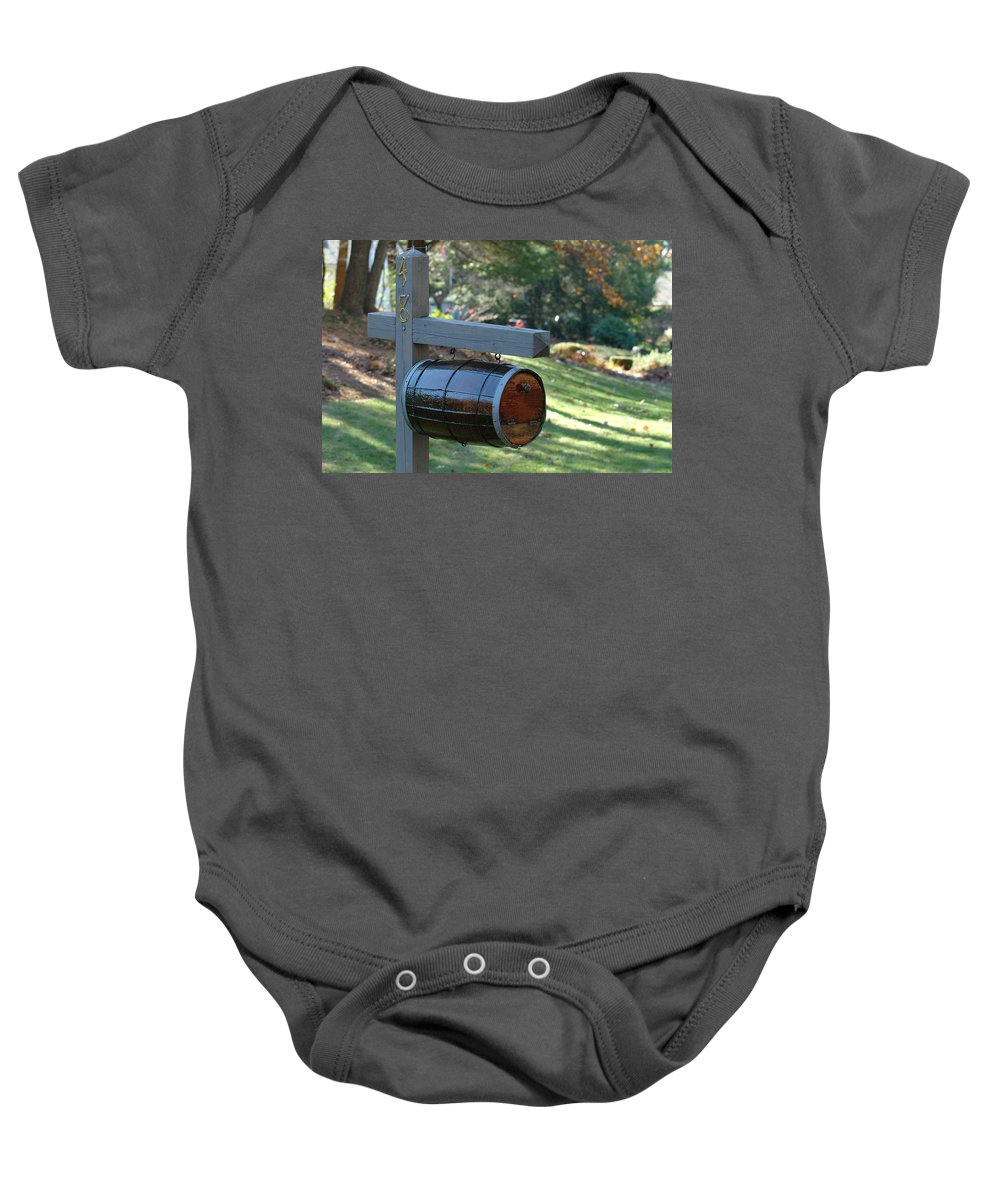 Countryside Baby Onesie featuring the photograph Countryside Mailbox #10 by Robert DeFosses