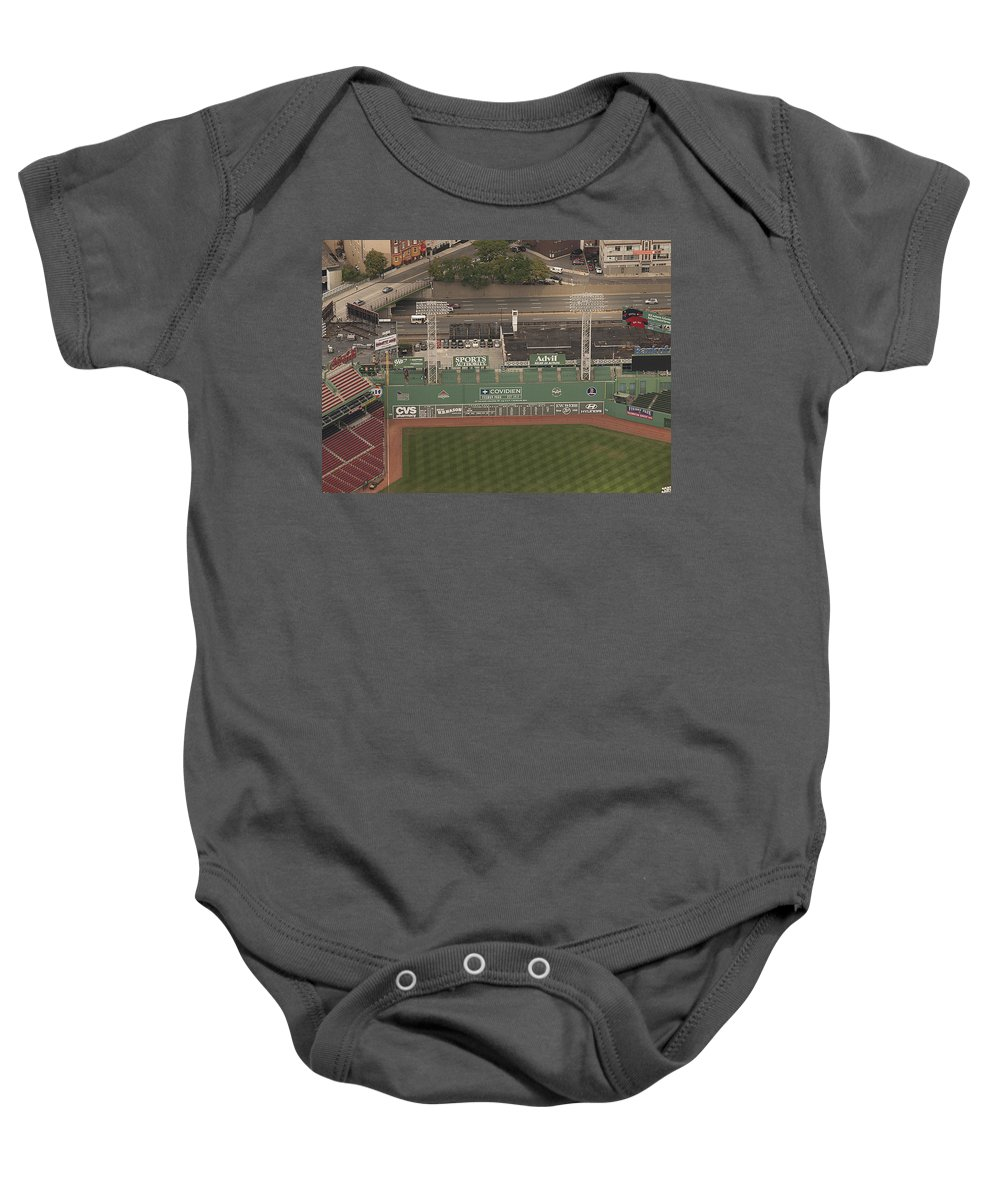 Green Monster Baby Onesie featuring the photograph Da Monsta by Joshua House
