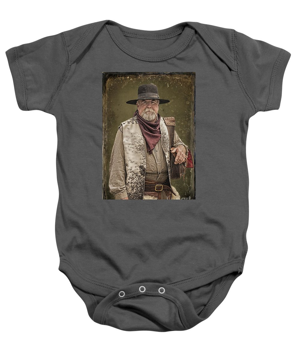 Decked Out For Whiskey Row Shootout Baby Onesie featuring the photograph Decked Out For Whiskey Row Shootout by Priscilla Burgers