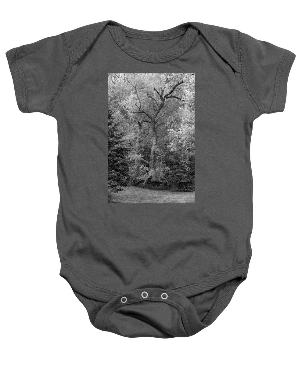 Bolton Baby Onesie featuring the photograph Determination 2 Monochrome by Steve Harrington