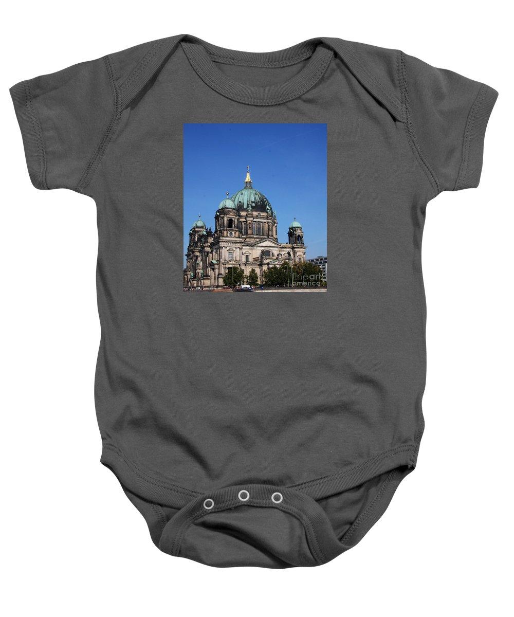 Deutscher Dom Baby Onesie featuring the photograph Deutscher Dom by Christiane Schulze Art And Photography
