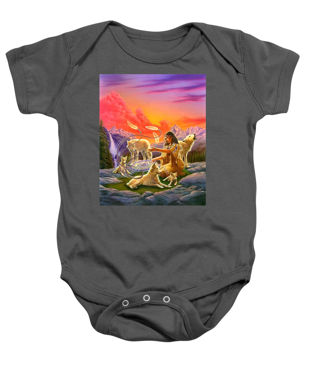 Adult Baby Onesie featuring the photograph Dreamcatcher 8 by Andrew Farley