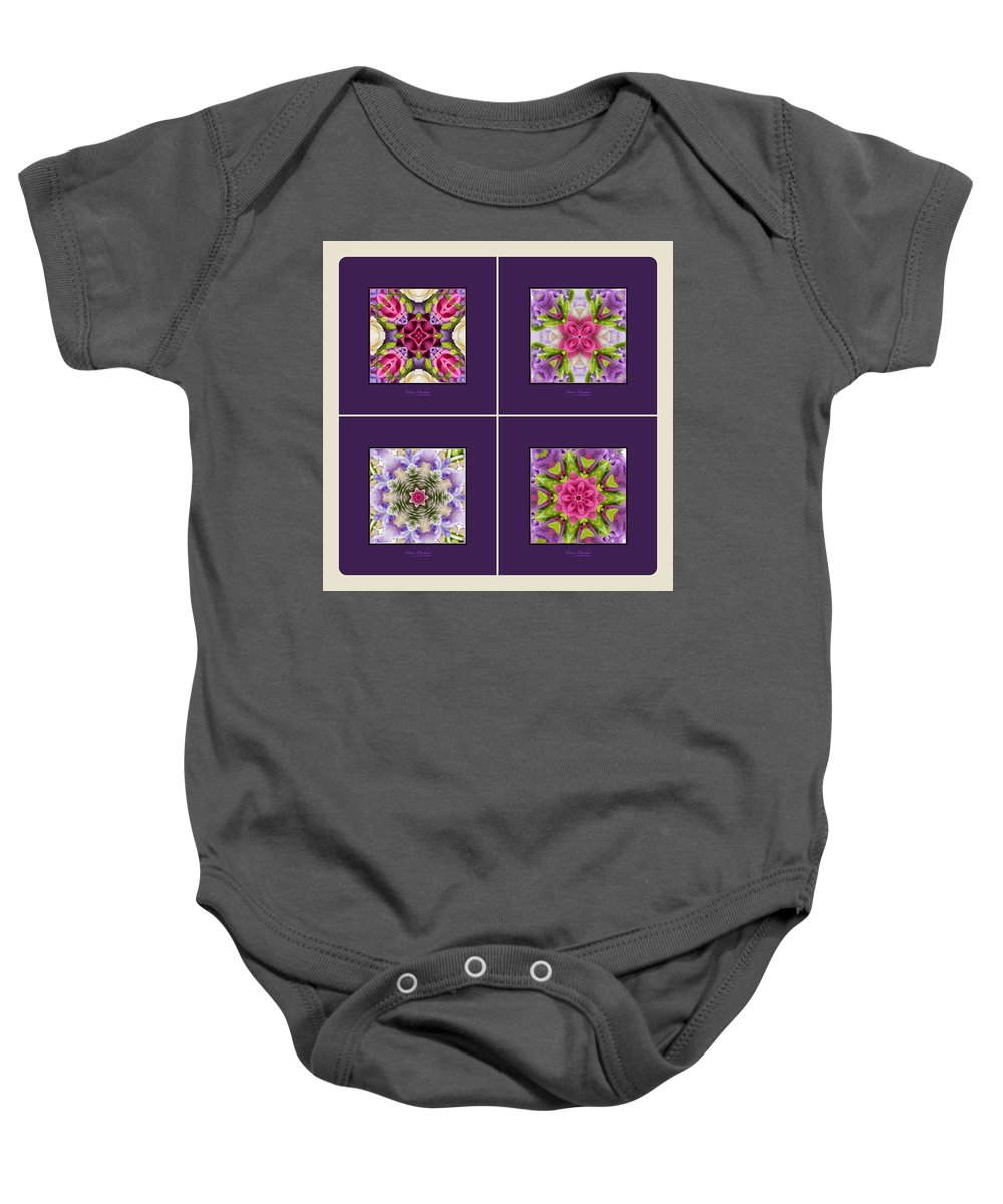 Dreaming Of My Garden Group 1 Baby Onesie featuring the photograph Dreaming Of My Garden Group 1 by Mary Machare