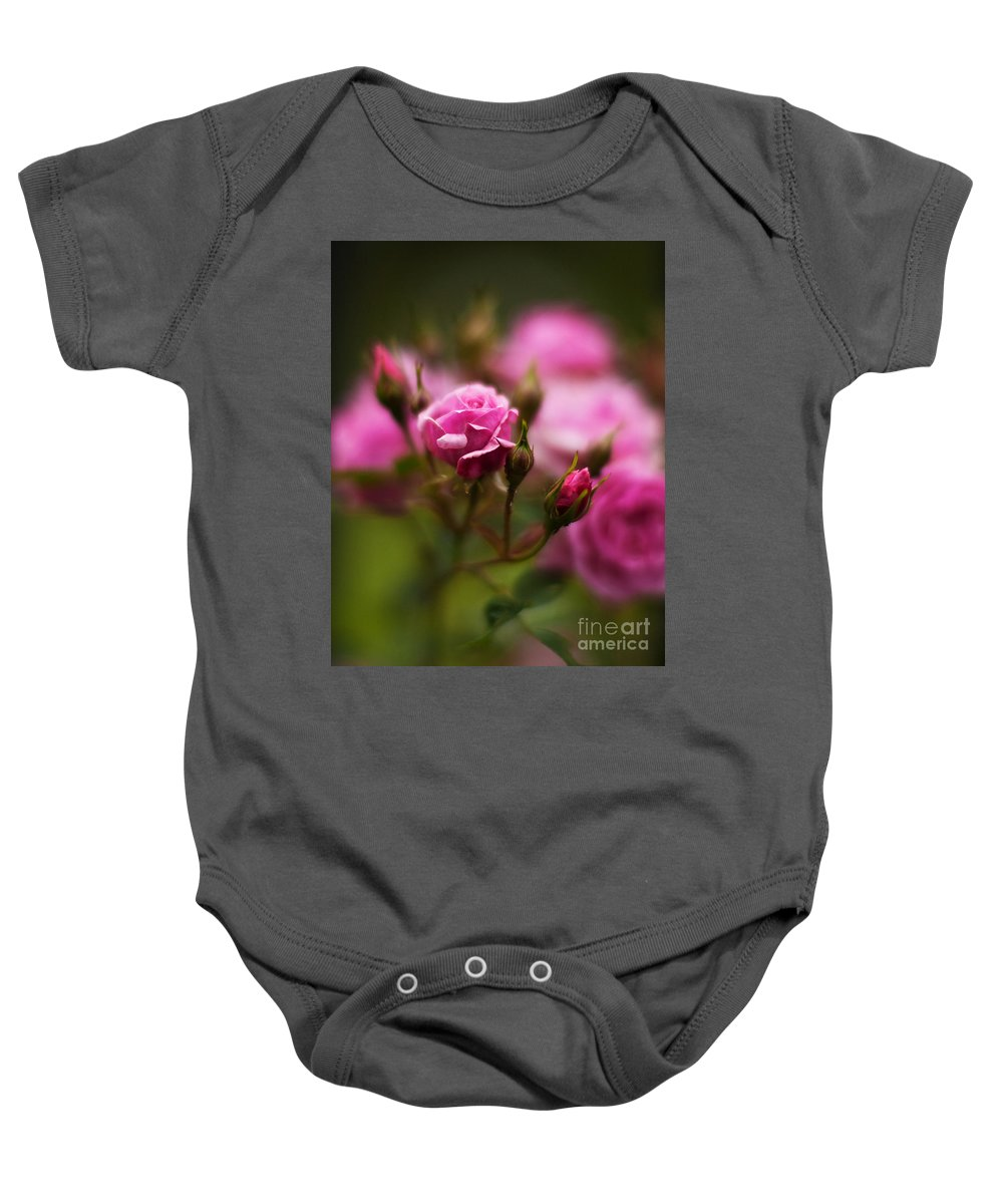 Pink Baby Onesie featuring the photograph Elegant Pink by Mike Reid