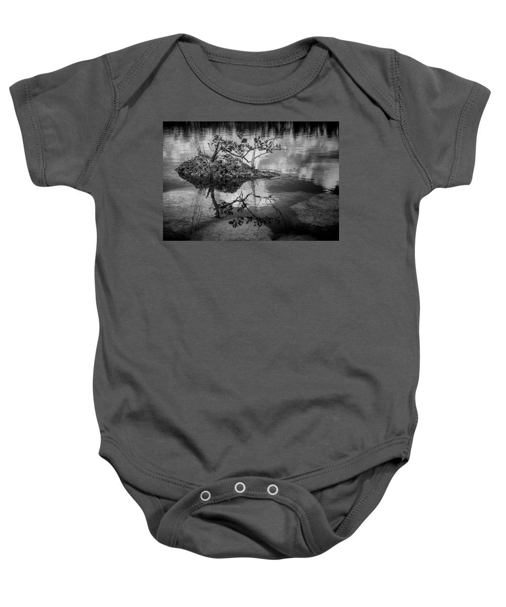 Everglades Baby Onesie featuring the photograph Everglades 0346 by Rudy Umans