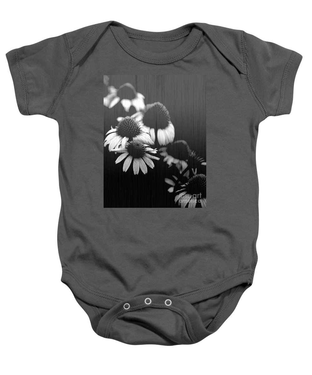Echanecia Baby Onesie featuring the photograph Faded Memory by Amanda Barcon