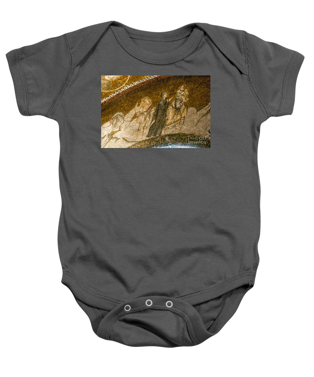 Church Baby Onesie featuring the photograph Flight To Egypt by Bob Phillips