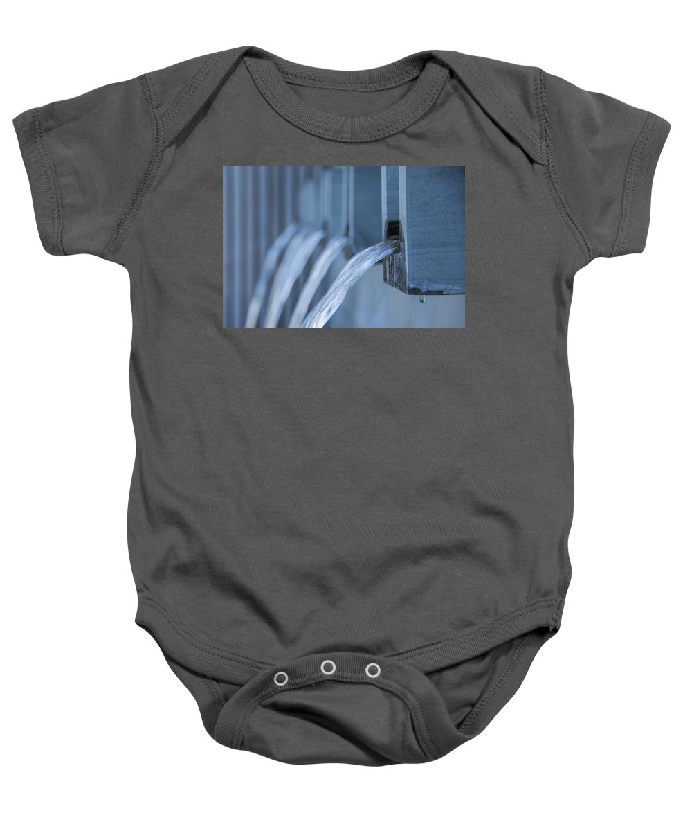 Nuview Baby Onesie featuring the photograph Flow by Theodore Jones