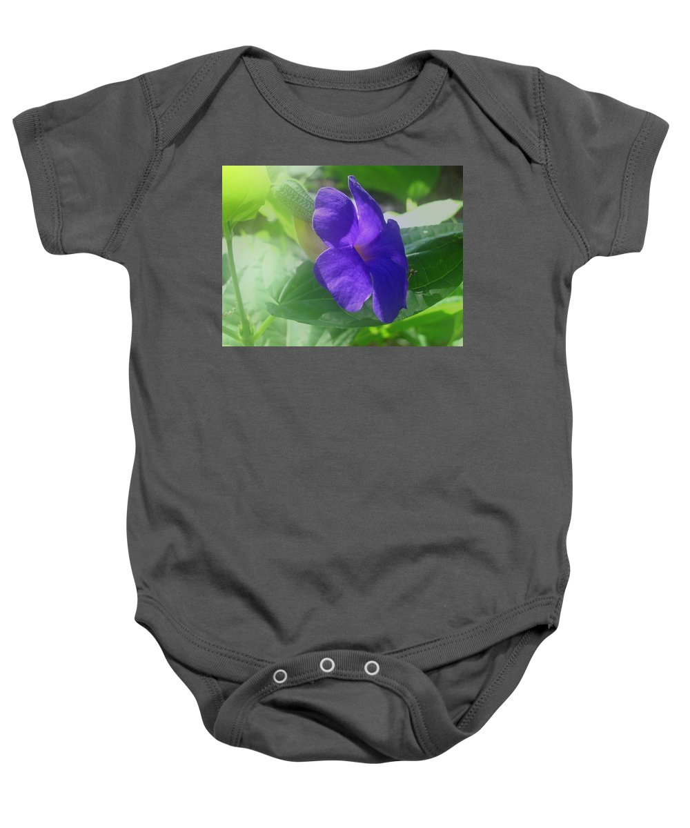 Penne Baby Onesie featuring the photograph Flower No. 2 by Phil Penne