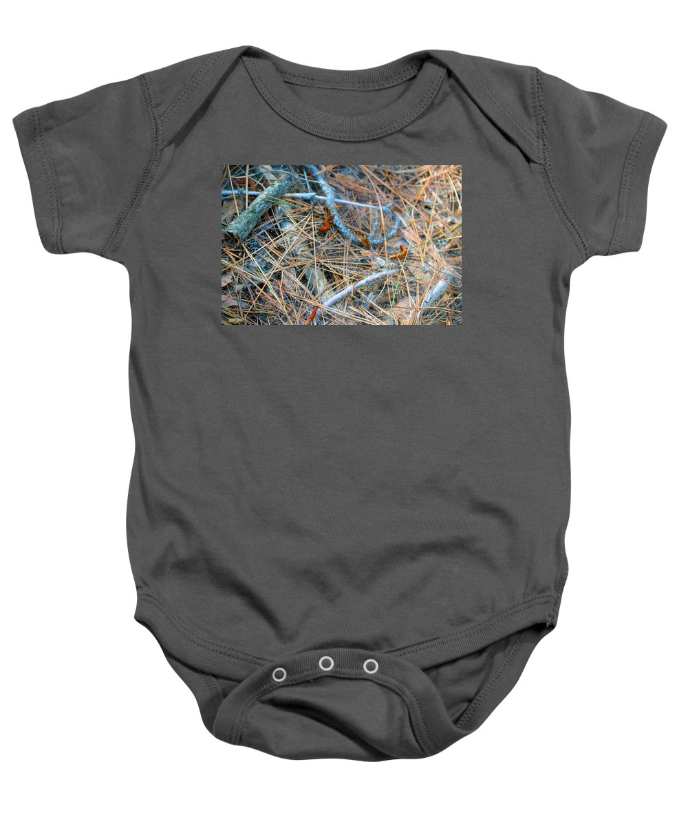 Nevada Baby Onesie featuring the photograph Forest Floor by Brent Dolliver
