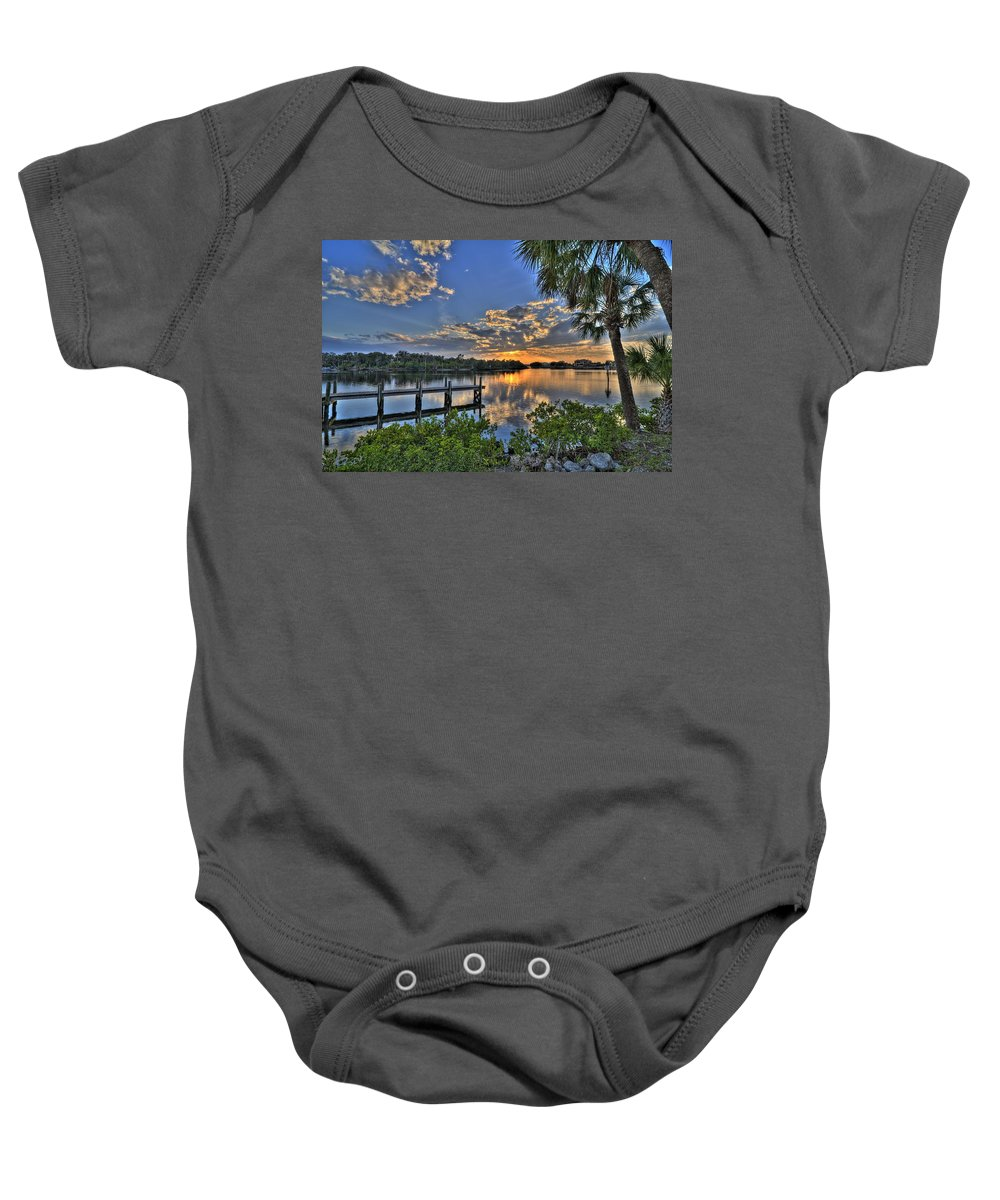 Landscape Baby Onesie featuring the photograph Ft. Hamer Series - 3 by Jonathan Sabin