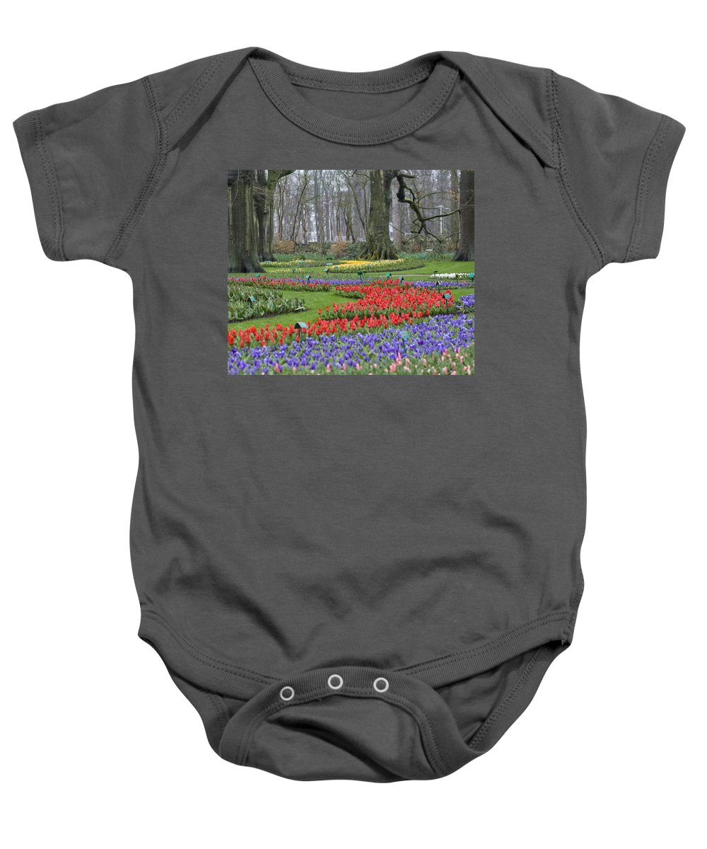 Blooming Baby Onesie featuring the photograph Garden Of Eden by Juli Scalzi