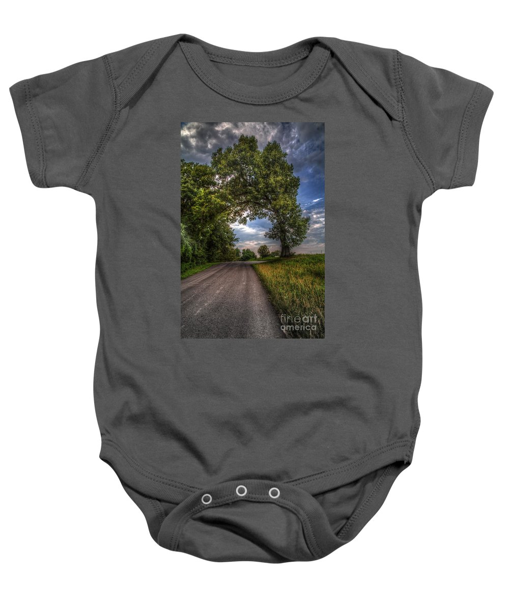 2014 Baby Onesie featuring the photograph Gateway To Heaven by Larry Braun