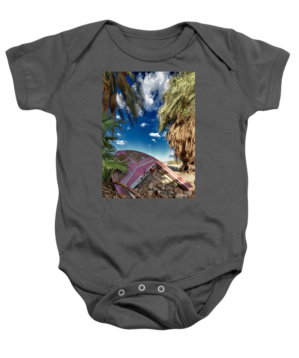 Boat Baby Onesie featuring the photograph Gilligans Island by Scott Campbell