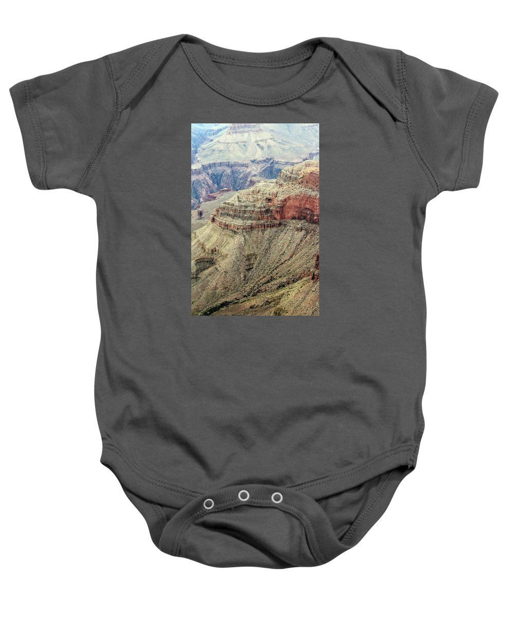 Landscape Baby Onesie featuring the photograph Grand Canyon View by Cynthia Guinn