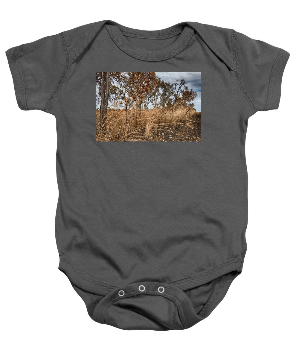 Grassroots Baby Onesie featuring the photograph Grassroots by Douglas Barnard