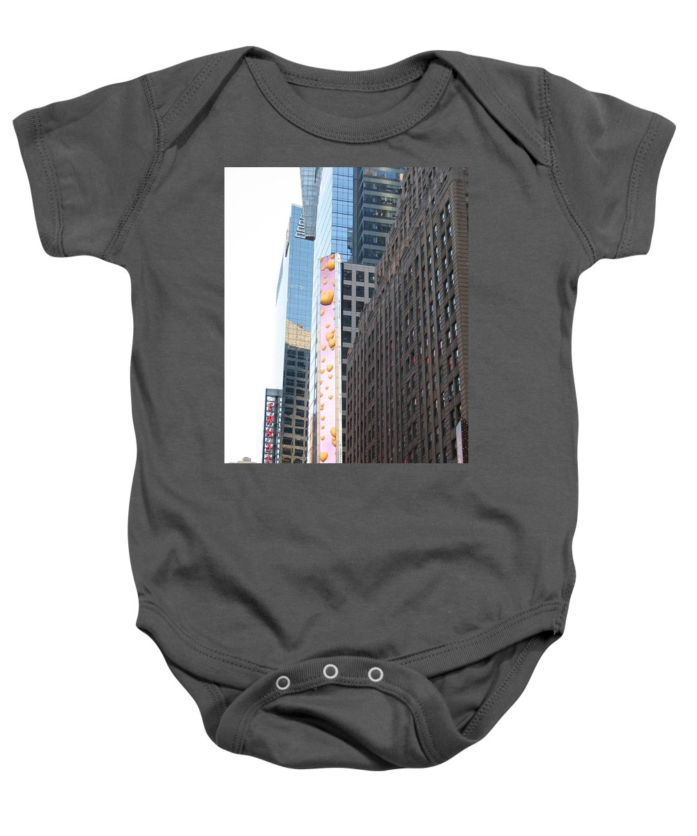 Hearts Baby Onesie featuring the photograph Hearts On The Run by Christiane Schulze Art And Photography