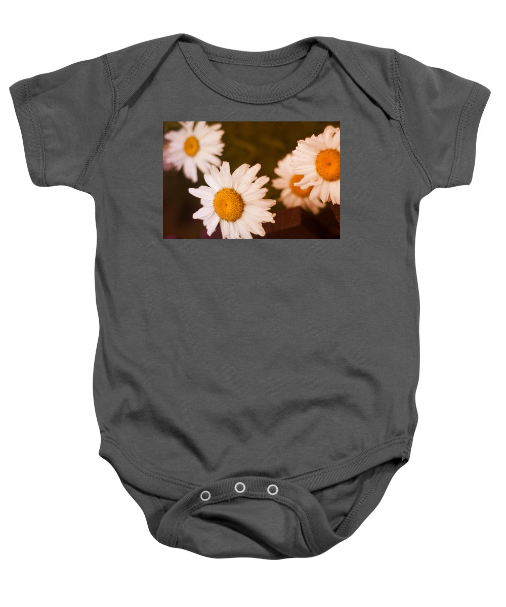 Flowers Baby Onesie featuring the photograph Hidden Treasure by Miguel Winterpacht