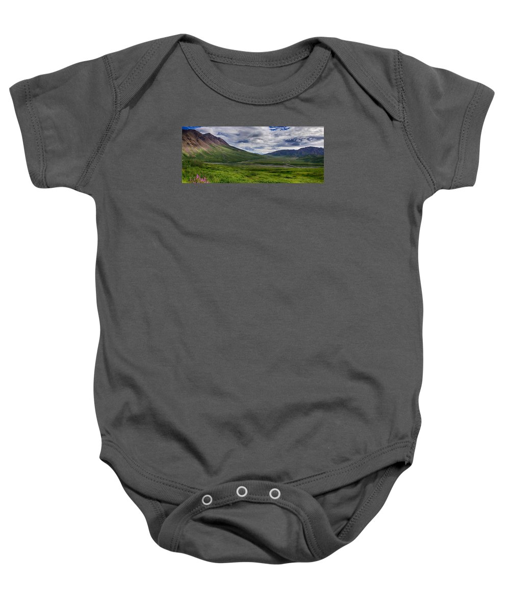 Park Road Baby Onesie featuring the photograph Highway To Heaven by Gary O'Boyle