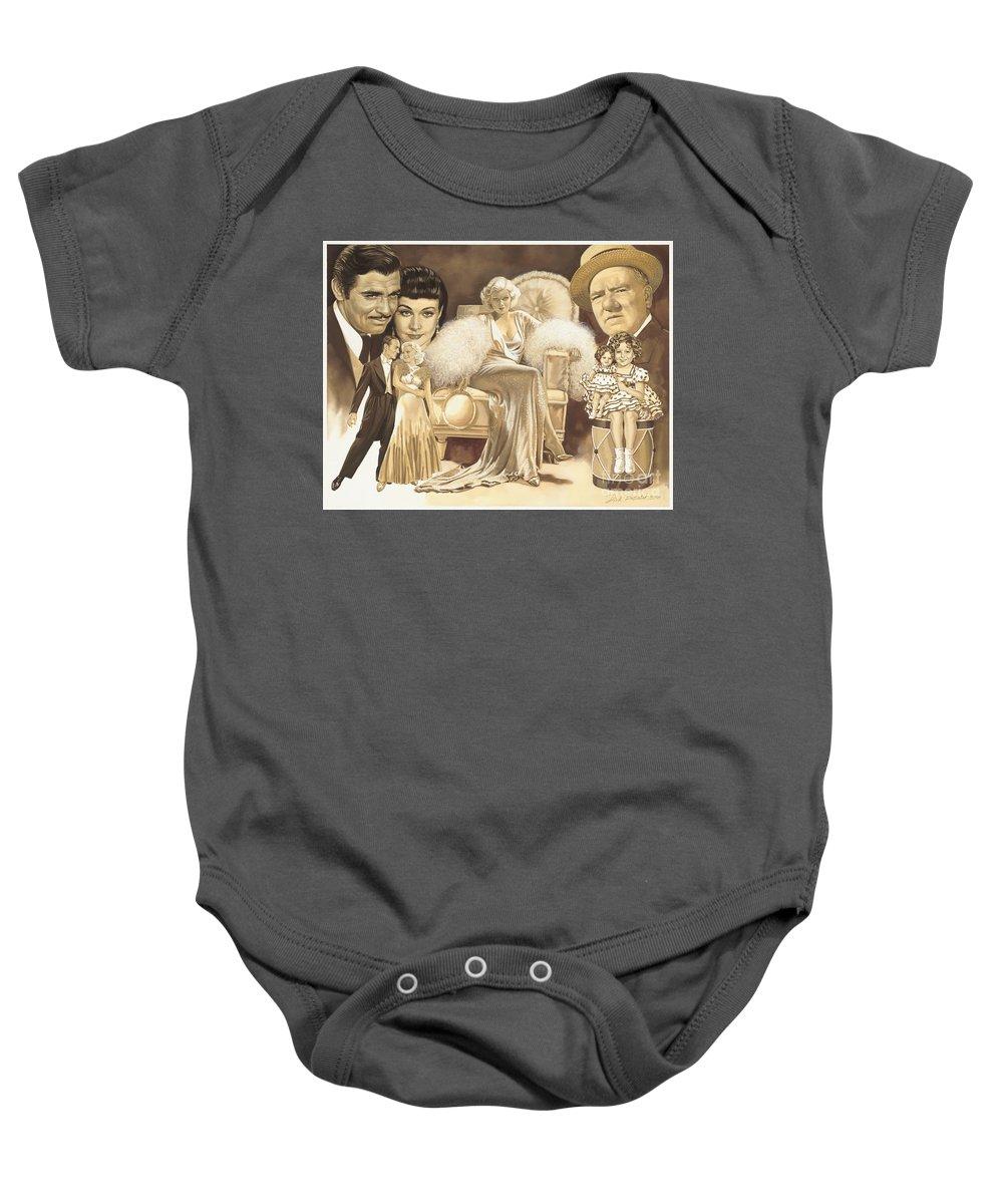 Shirley Temple Baby Onesies