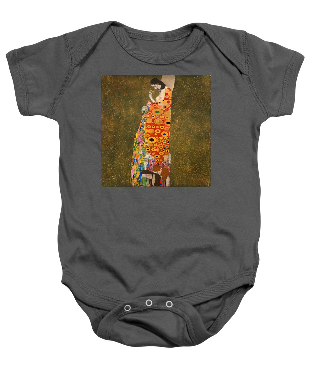 Painting Baby Onesie featuring the painting Hope II by Mountain Dreams