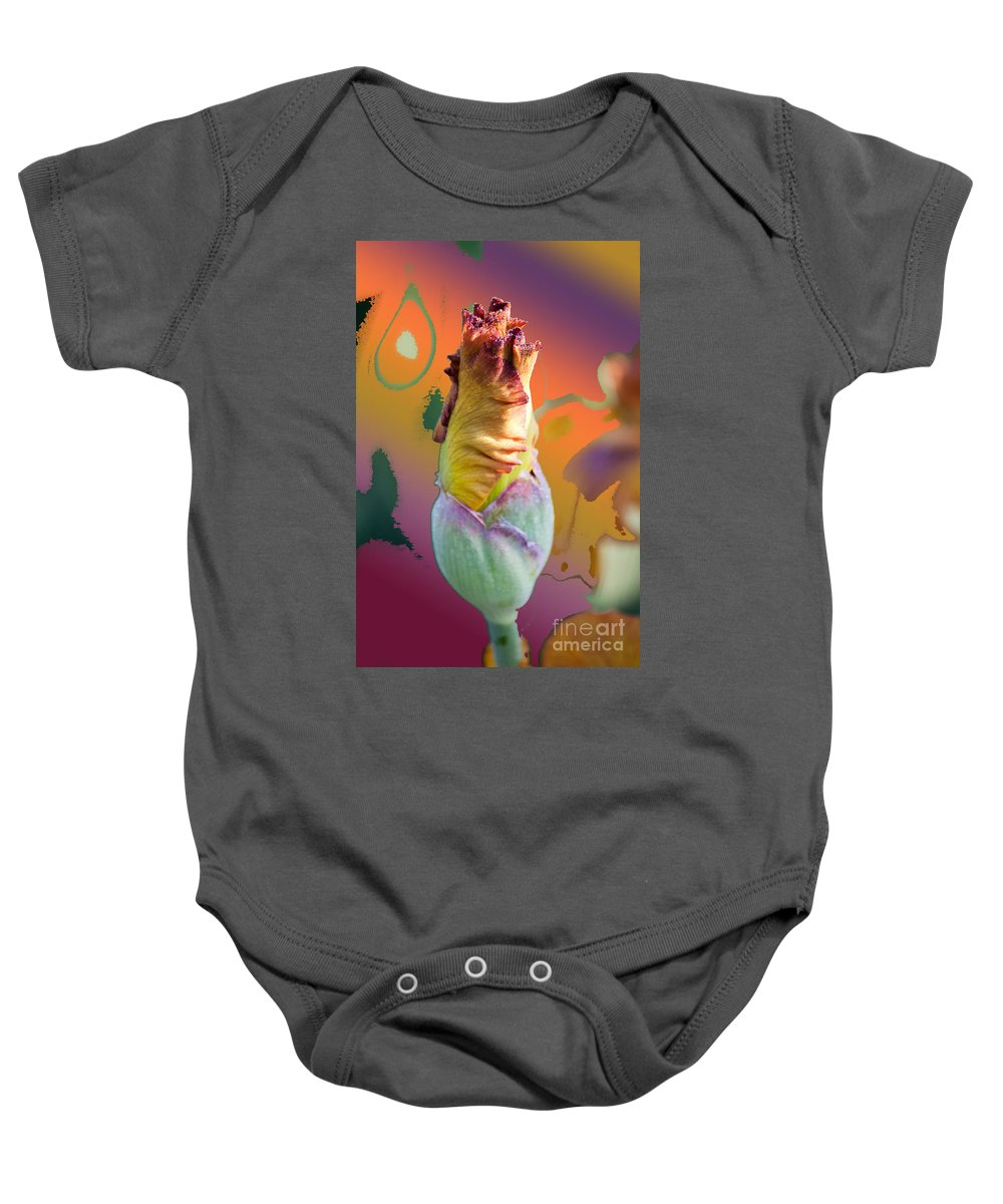 Landscapes Baby Onesie featuring the digital art Img 27 by Steve Herndon